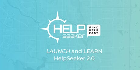 HelpSeeker 2.0 Launch and Learn tickets