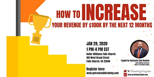 How to Increase your Revenue by $100K by the next 12 months