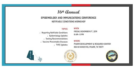 16th Annual Epidemiology and Immunizations Conference tickets