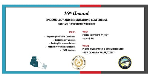 16th Annual Epidemiology and Immunizations Conference