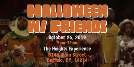 Halloween with Friends tickets