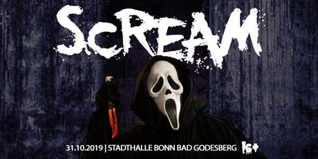 SCREAM 16+ Halloween // Stadthalle Bad Godesberg Tickets