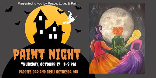 Hocus Pocus Paint Party