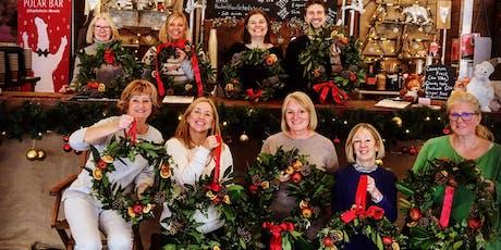 Wreath making at the Ice Rink Tunbridge Wells tickets