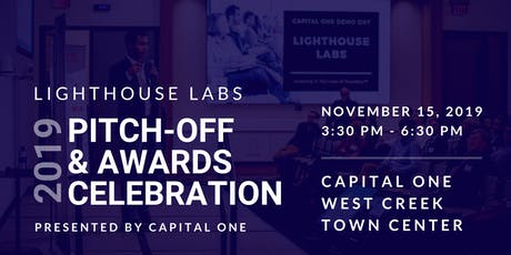 2019 Lighthouse Labs Pitch-Off & Awards Celebration presented by Capital One tickets