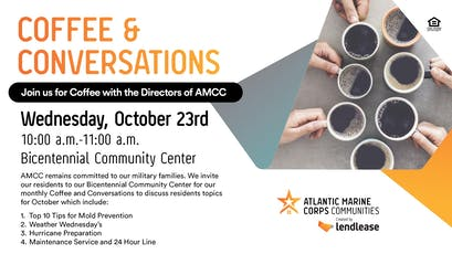 Coffee & Conversation Camp Lejeune & New River tickets