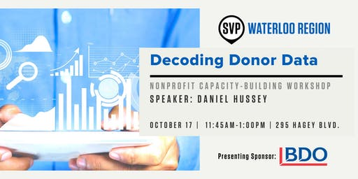 Decoding Donor Data - Nonprofit Lunch & Learn