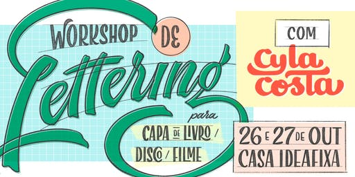 Workshop - Lettering com Cyla Costa