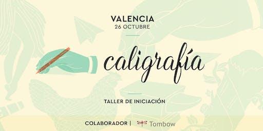 Taller de iniciación de Caligrafía Creativa. RUBIO - 26 OCTUBRE  - Valencia