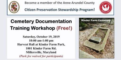 Cemetery Documentation Workshop