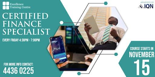 Certified Finance Specialist Course