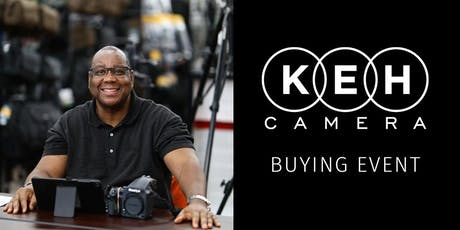 KEH Camera at Gosselin Photo- Buying Event billets