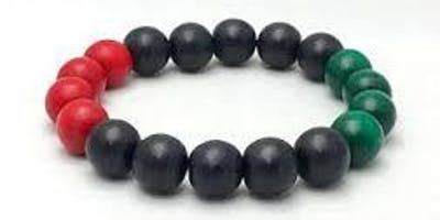 BHM: Flag Beads @ Chingford Library