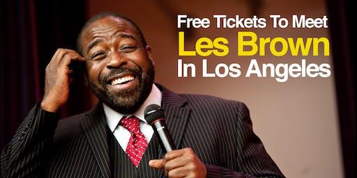 See Les Brown In Los Angeles
