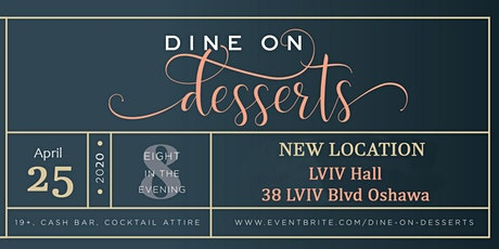 Dine on Desserts tickets