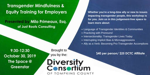 Transgender Mindfulness & Equity Training For Employers