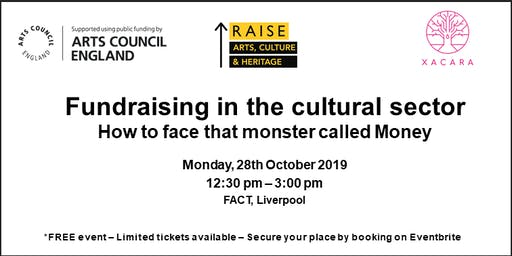 Fundraising in the cultural sector: How to face that monster called money