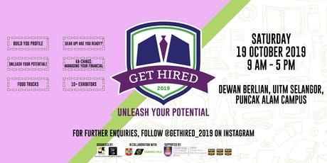 GET HIRED 2019 tickets