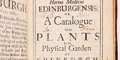 James Sutherland:  Botanist, Antiquary and Numismatist tickets