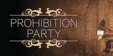 Prohibition ends here ! tickets
