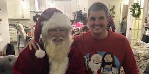 Bigoski Agency Holiday Ice Cream Party and Santa Visit