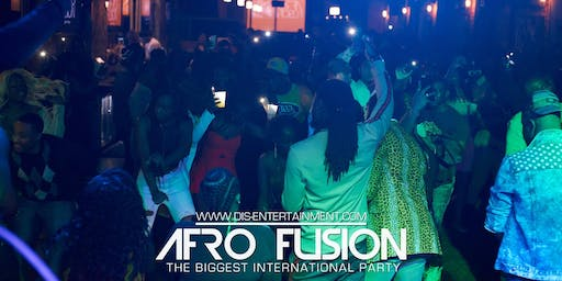 AFROFUSION PRESENTS 100% AFROBEATS PARTY