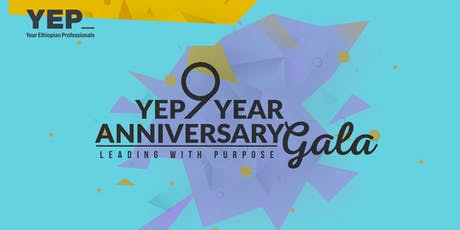 YEP Nine Year Anniversary Celebration - Leading with Purpose tickets