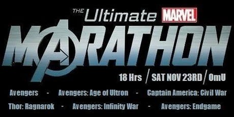 Ultimate Marvel Kino Marathon (OmU) Tickets