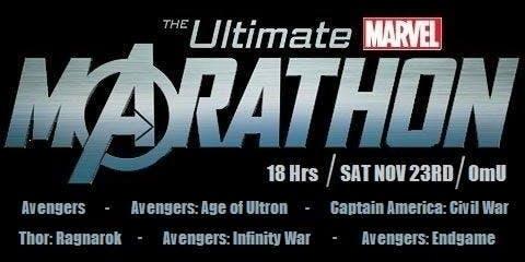 Ultimate Marvel Kino Marathon (OmU)