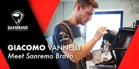Giacomo Vannelli: meet Sanremo Bravo biglietti