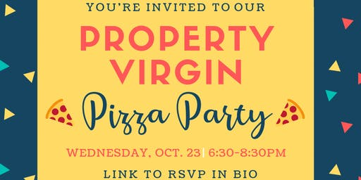 Property Virgin Pizza Party in DC!