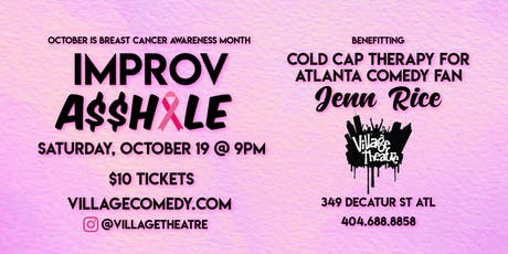 Improv A-Hole (Breast Cancer Awareness Month Fundraiser) tickets