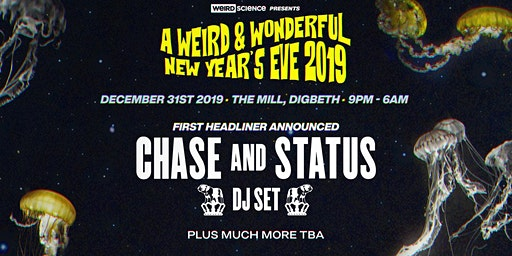 A Weird & Wonderful NYE (The Mill, Birmingham)