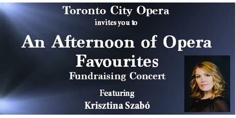 Toronto City Opera - An Afternoon of Opera Favourites Fundraising Concert tickets