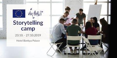 Storytelling camp I 2019