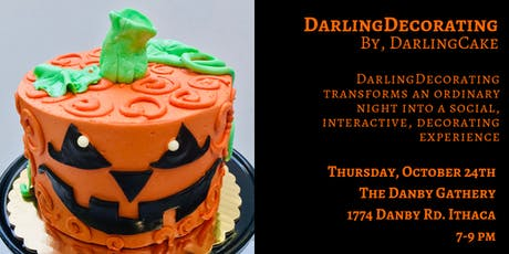 DarlingDecorating: A Social Cake Decorating Event tickets
