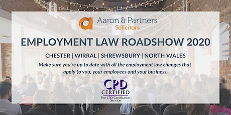 Employment Law Roadshow 2020 - North Wales tickets