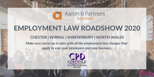 Employment Law Roadshow 2020 - Wirral