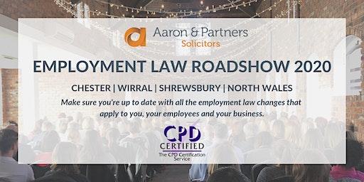 Employment Law Roadshow 2020 - Wirral