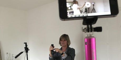 Vortrag: Businessfilme mit dem Smartphone produzieren? Tickets