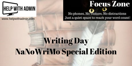 Focus Zone - Writing Day, NaNoWriMo Special Edition tickets
