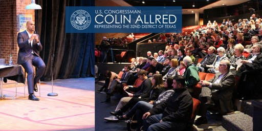 Rep. Colin Allred Hosts Dallas Town Hall for the 32nd District of Texas