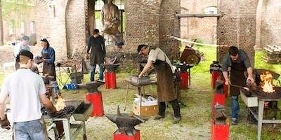 Allez:NL - Workshop ijzer smeden met  IJzer en Vuur met steun Erfgoedcel
