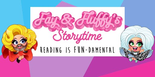 Fay & Fluffy's Halloween Storytime at Queen Books