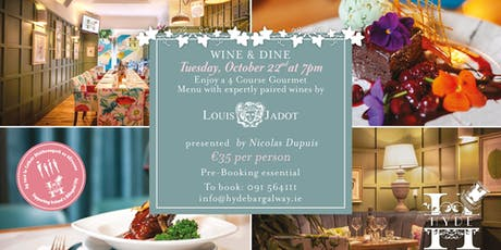 Wine and Dine Evening hosted by Louis Jadot Wines tickets