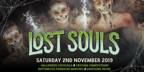 The Lost Souls Halloween Party at The Lost Paradise 2.11.19 tickets