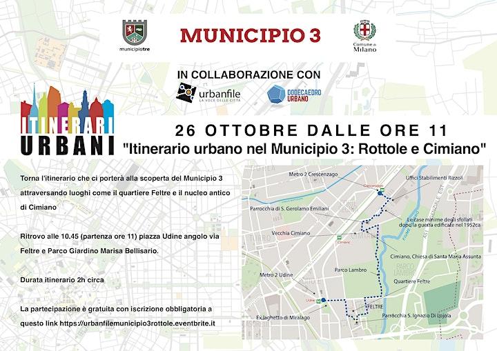 Immagine Itinerario Urbano nel Municipio 3 ROTTOLE E CIMIANO