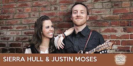 Sierra Hull & Justin Moses - TVOTFC Concert Series tickets