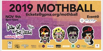 GPNA MothBall 2019 - Day of the Dead ... Celebrity Style!