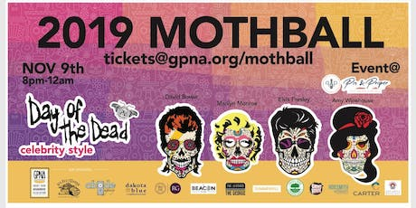 GPNA MothBall 2019 - Day of the Dead ... Celebrity Style! tickets